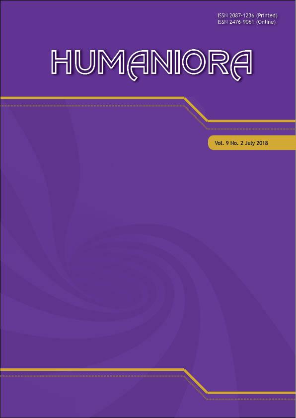 View Vol. 9 No. 2 (2018): Humaniora