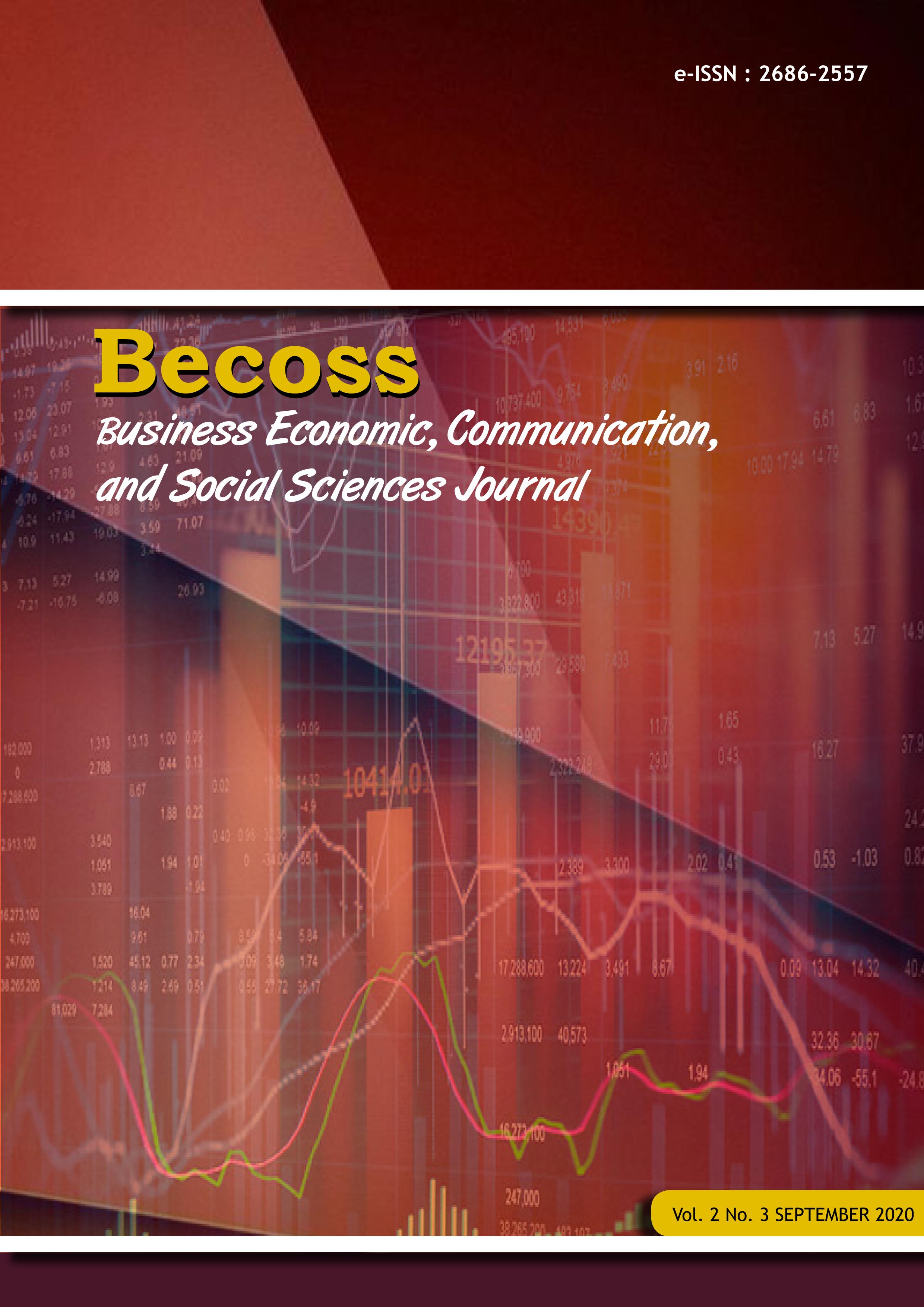 View Vol. 2 No. 3 (2020): BECOSS
