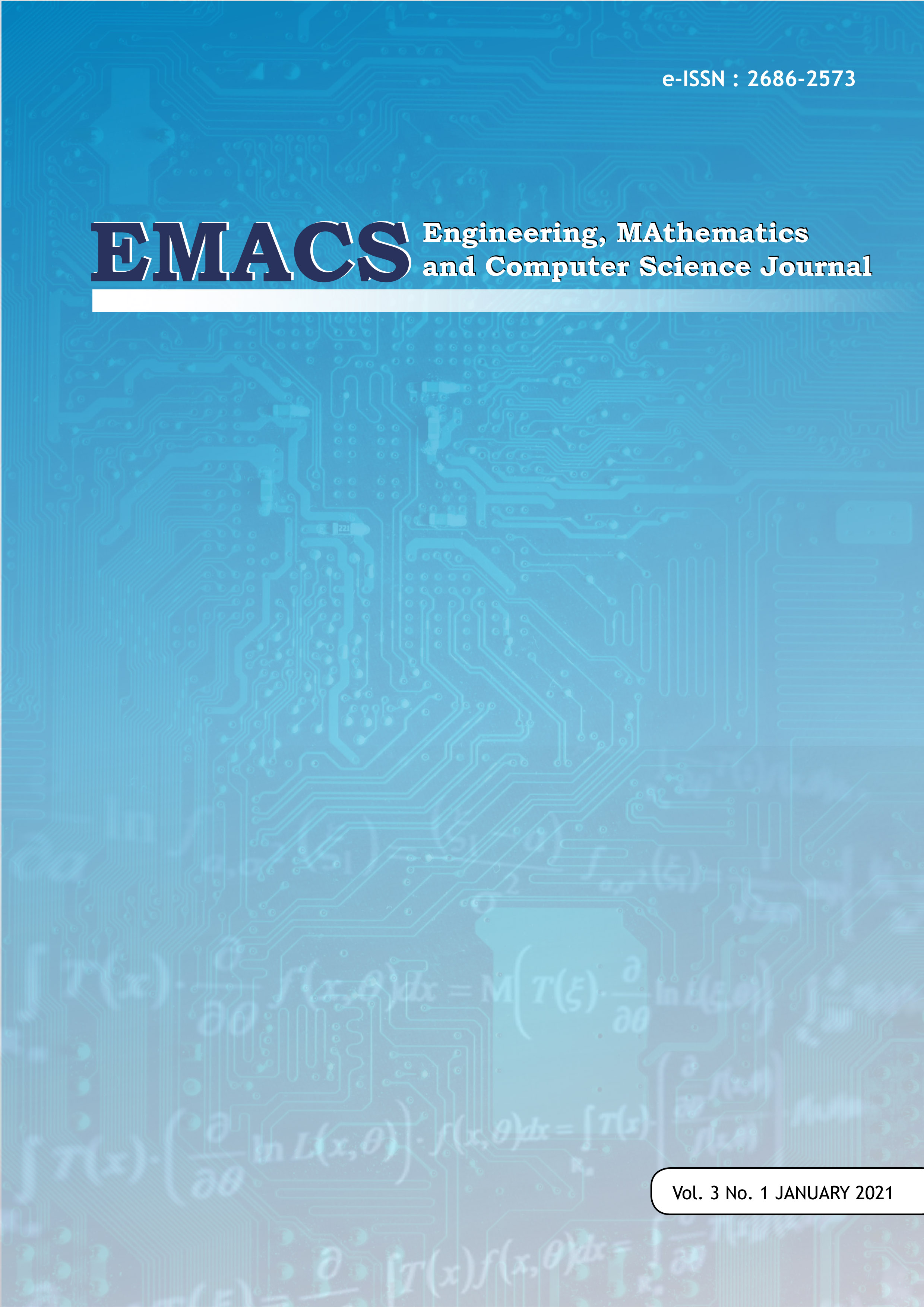 View Vol. 3 No. 1 (2021): EMACS