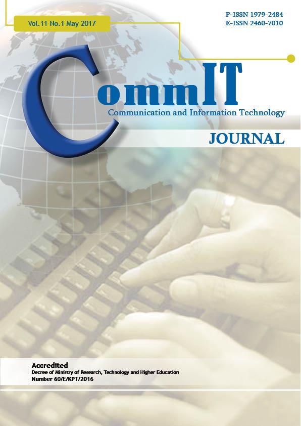 View Vol. 11 No. 1 (2017): CommIT Journal