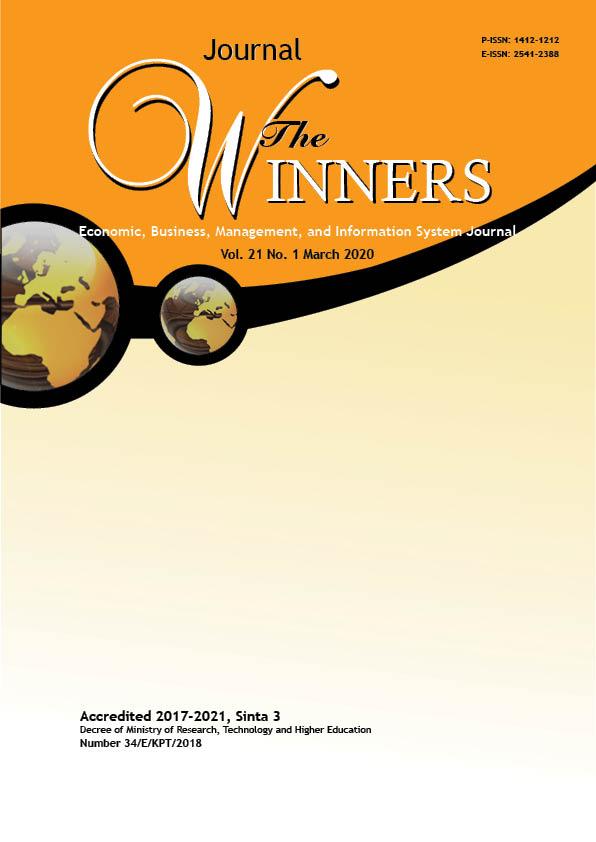 View Vol. 21 No. 1 (2020): The Winners