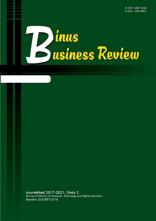 Binus Business Review
