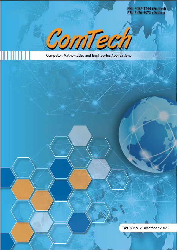 View Vol. 9 No. 2 (2018): ComTech