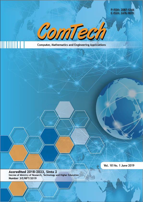 View Vol. 10 No. 1 (2019): ComTech