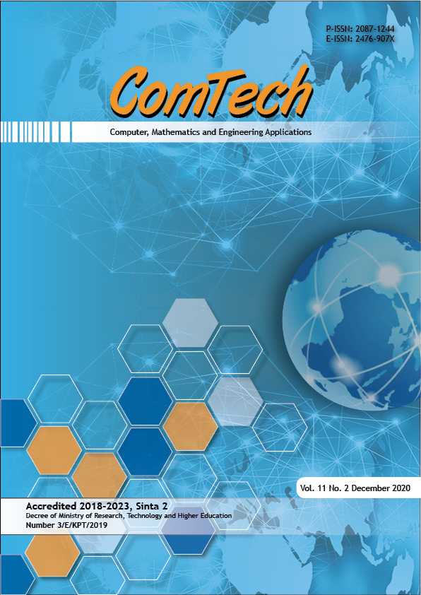 View Vol. 11 No. 2 (2020): ComTech (Inpress)