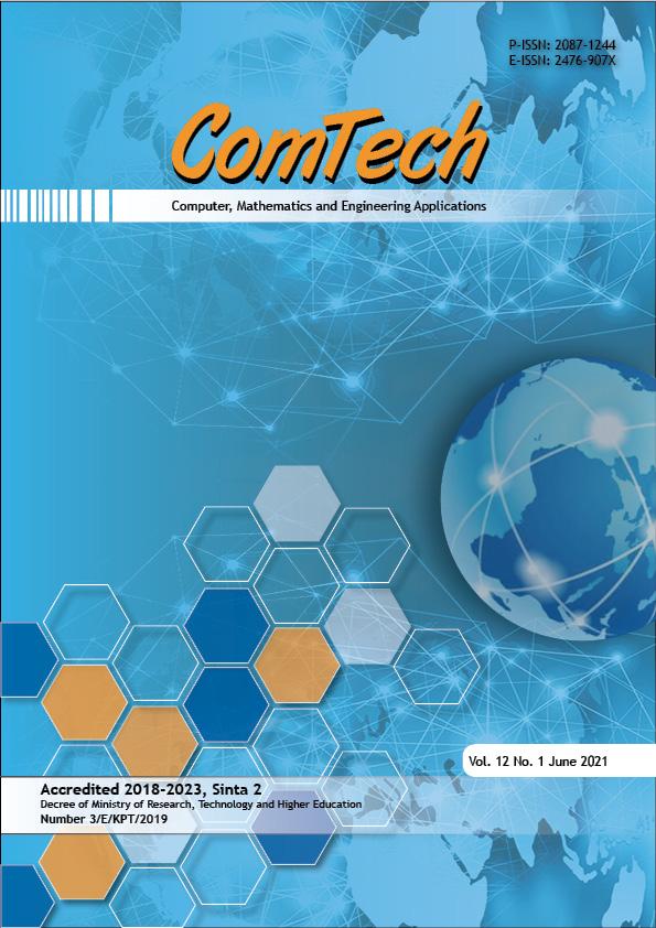View Vol. 12 No. 1 (2021): ComTech (inpress)